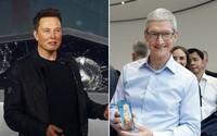 Elon Musk chtěl Teslu prodat Applu za 60 miliard dolarů. Tim Cook odmítl, dnes má automobilka hodnotu 650 miliard