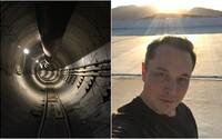 Elon Musk dokončil prvý tunel pre futuristickú prepravu. Zverejnil ho prostredníctvom Instagramu