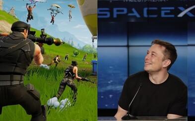 Elon Musk označil hráče Fortnite za věčné panice. Hru by nejraději odkoupil a smazal