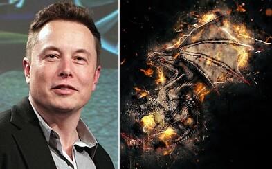 Elon Musk plánuje vytvoriť robotického draka