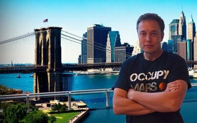 Elon Musk postaví Hyperloop mezi New Yorkem a Washingtonem! Města plánuje propojit za úctyhodných 29 minut
