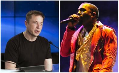 Elon Musk řekl, že ho inspiruje Kanye West. Publikum však svým tvrzením rozesmál