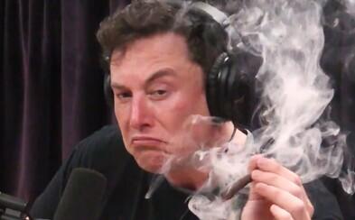 Elon Musk si neodpustil vtip s referencí na marihuanu, když akcie Tesly dosáhly úrovně 420 dolarů