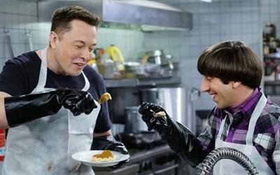 Elon Musk v útulku pre bezdomovcov a Charlie Sheen v bare. Toto sú najlepšie cameo roly v Teórii veľkého tresku