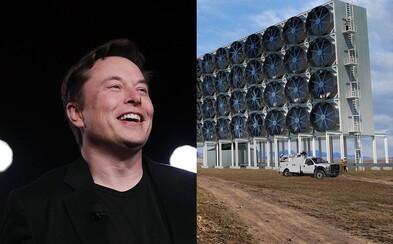Elon Musk věnuje 100 milionů dolarů nejlepšímu projektu na zachycování CO2