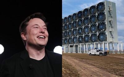 Elon Musk venuje 100 miliónov dolárov najlepšiemu projektu na zachytávanie CO2