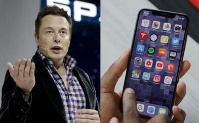 Elon Musk vyhlásil, že Apple výrobky už stratili svoj lesk. V minulosti ľudí robili šťastnými, dnes to tak nie je