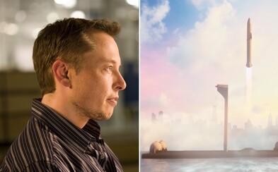 Elon Musk vymení lietadlá za rakety. Nový spôsob cestovania nás do hodiny dopraví kdekoľvek na Zemi
