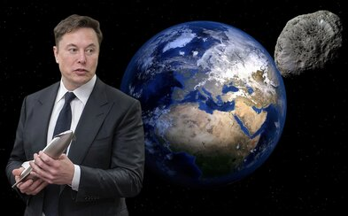 Elon Musk žádá ochranu Země před asteroidy. Tvrdí, že ke srážce jednou určitě dojde