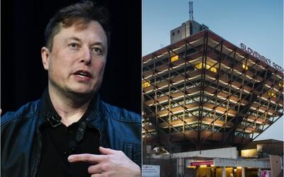 Elona Muska zaujala budova Slovenského rozhlasu v Bratislave