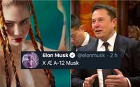 Elonovi Muskovi sa narodil syn. Toto meno snáď nemyslí vážne