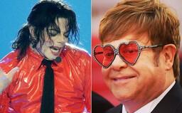 Elton John nazýva Michaela Jacksona mentálne chorým, dôvodom mohla byť závislosť na drogách