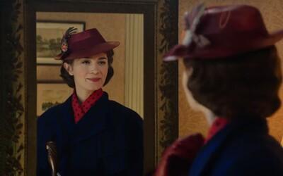 Emily Blunt v zime priletí do kín ako čarovná Mary Poppins! Spoznajte ju v čerstvých záberoch z rozprávky