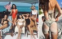 Emily Ratajkowski, Bella Hadid či Alessandra Ambrosio si spolu užívaly slunečné Bahamy. Podívejte se, jak trávily dovolenou tyto krásky