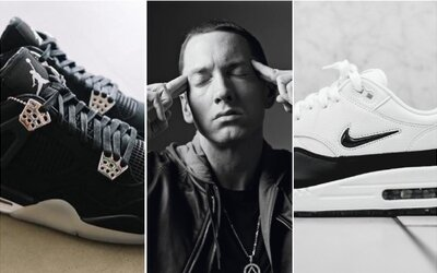 Eminem a jeho najobľúbenejšie tenisky. V akých kúskoch ho môžeš najnovšie sledovať?