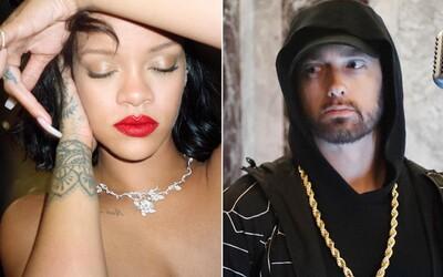 Eminem dissuje Rihannu a staví se na stranu Chrise Browna. Ve starší skladbě tvrdí, že by ji také zbil