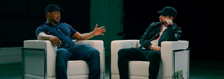 Eminem popiera, že by na Kamikaze dissoval Drakea. Tvrdí, že Grammy sú skorumpované a vyhrávajú ich kamaráti organizátorov