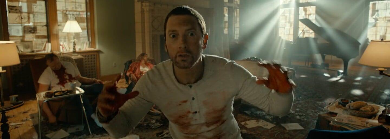 Eminem představuje hororový videoklip ke skladbě Framed