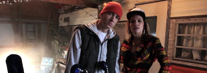 Eminem se nám po delším čase připomíná účastí na hostovačce, na kterou doručil kvalitní sloku