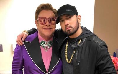 Eminem si nemyslí, že je králem rapu, poslouchá nové rapery, aby nabral více zkušeností. Který mladík se mu líbí?