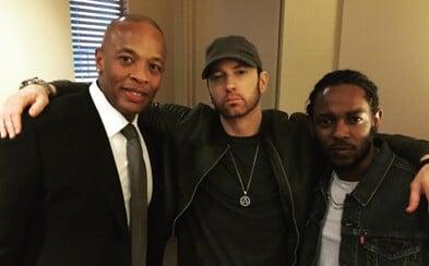 Eminem už potichu pracuje na svojom novom albume. Nechtiac to prezradil režisér dokumentu o Dr. Drem, ktorý sa na ňom má aj objaviť