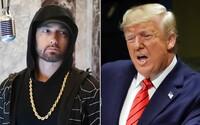 Eminema navštívili tajní agenti kvůli útočným textům proti Donaldu Trumpovi. Ptali se ho na spojení s teroristickými skupinami