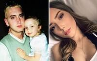 Eminemova dcéra Hailie vyrástla do krásy. Inšpirácia mnohých legendárnych skladieb dnes spokojne študuje na univerzite