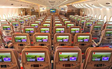 Emirates mají první letadlo, které přepraví 615 cestujících najednou! Podařilo se to díky odstranění první třídy