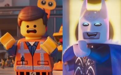 Emmet čelí útoku z planéty Duplo a Batman odhaľuje kostým na párty. Animák The Lego Movie 2 baví ďalšou skvelou ukážkou