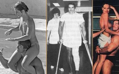 Emoce, nahota, zábava, tréninky a zlaté časy kulturistiky. Sleduj vzácné fotografie Arnolda Schwarzeneggera, které jsi (možná) neviděl