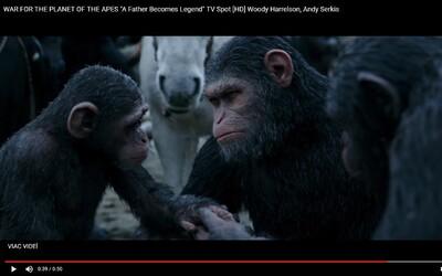 Emócie budú podstatnou častou Vojny o planétu opíc. Caesar je už totiž hlavou rodiny a dôležitejšie než pravidlo nezabíjať je ich bezpečie
