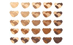 Emoji podania rúk budeš môcť použiť v rôznych farbách pleti