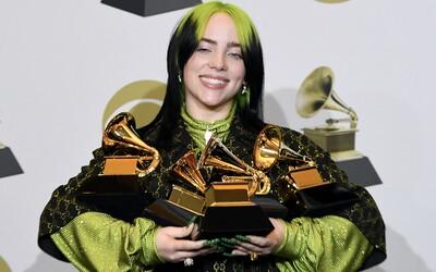 Emotivní předávání cen Grammy ve znamení rozloučení s Kobe Bryantem ovládla Billie Eilish. Získala všechny nejdůležitější ceny