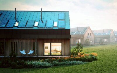 Energeticky úsporné hniezdočko na českom vidieku v hodnote 620 000 €