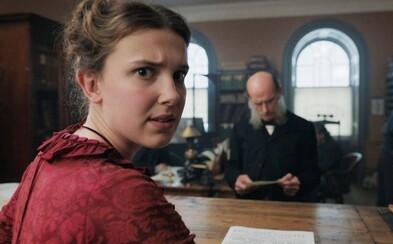 Enola Holmes dokáže všetko, čo jej starší bratia Sherlock a Mycroft. Slávneho detektíva si zahrá Henry Cavill