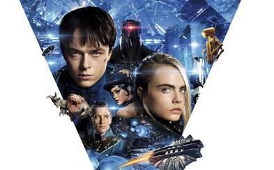 Epické sci-fi dobrodružstvo Valerian od tvorcu Piateho elementu sa síce vydarilo, no svoj skvelý potenciál zďaleka nevyužilo (Recenzia)