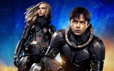 Epické sci-fi Valerian od Luca Bessona vnadí na veľkolepý kino zážitok finálnym trailerom plným vesmírnej akcie a skutočne úžasného vizuálu