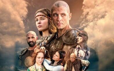 Epický historický seriál Slovania začne televízia JOJ vysielať už v marci. Herci trénovali šerm aj jazdu na koňoch
