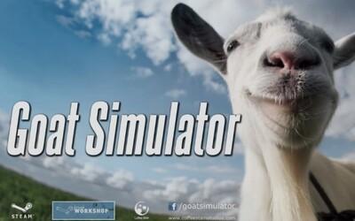 Epický simulátor kozy má vonku ďalší trailer