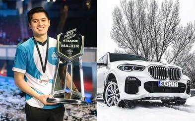Esport tým Cloud9 má nového sponzora. Jako první z herního světa spolupracuje s BMW