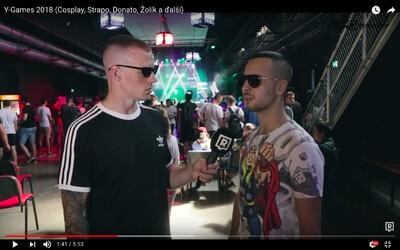 E-sports na Slovensku idú stále hore. Ako to vyzeralo na najväčšej hráčskej udalosti a čo hráva aktuálne Strapo najčastejšie?