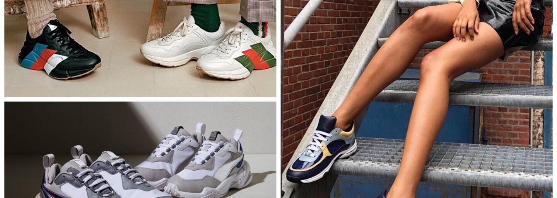 Ešte stále nemáte svoj pár chunky sneakers? Vybrali sme ďalšie páry, ktoré sa oplatí vlastniť