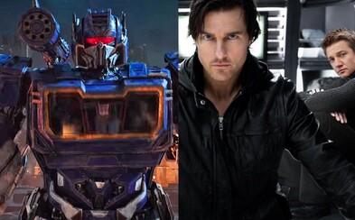 Ethan Hunt mal v Mission: Impossible 4 ukončiť agentskú kariéru a Transformerov čaká seriálová vojna o Cybertron