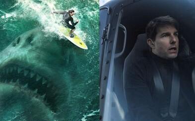 Ethan Hunt už zarobil v kinách pol miliardy a Statham s megažralokom žnú úspech najmä v zahraničí