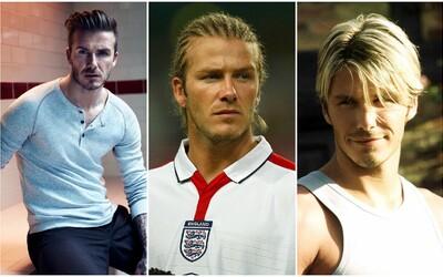 Evolúcia účesov Davida Beckhama: Od zelenáča v Manchestri United až po elegantného džentlmena