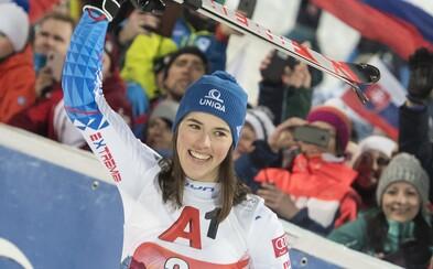 Excelentná Petra Vlhová vyhrala obrovský slalom v Taliansku! O prvé miesto sa delí s  Federicou Brignone