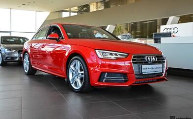 Exkluzivní předpremiéra: Zcela nové Audi A4 přijelo v předstihu na Slovensko a my jsme byli při tom