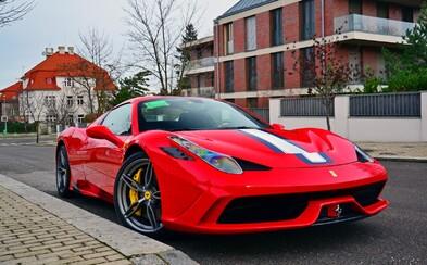 Exkluzivní a nedávno odhalené Ferrari 458 Speciale A za 9,5 milionu korun už i v Česku!