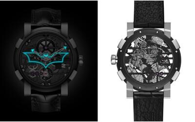 Exkluzivní hodinky s motivem Batmana stojí půl milionu korun. Je jich jen 75 kusů a na zadní straně ukrývají mapu Gothamu