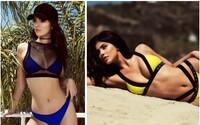 Exkluzivní kolekce plavek Kylie a Kendall Jenner pro Topshop se dnes dostává do prodeje